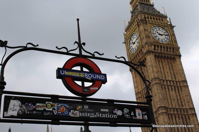 Harry Potter Westminster Station