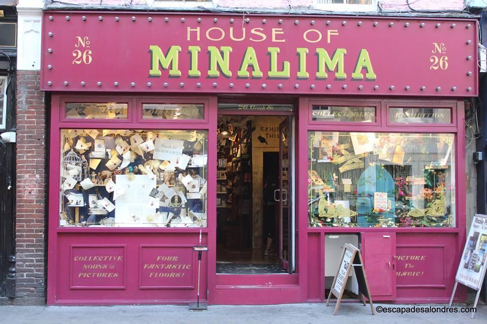 House of minalima Londres