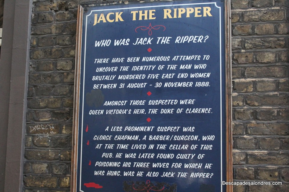 Jack the ripper londres