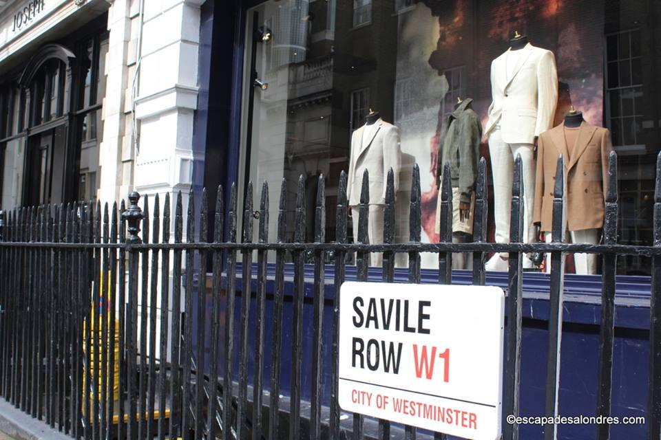 James Bond Savile Row