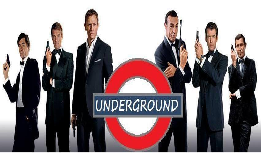 James Bond Underground