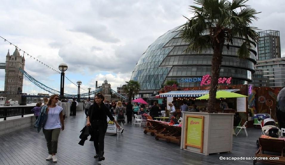 Londres en juillet
