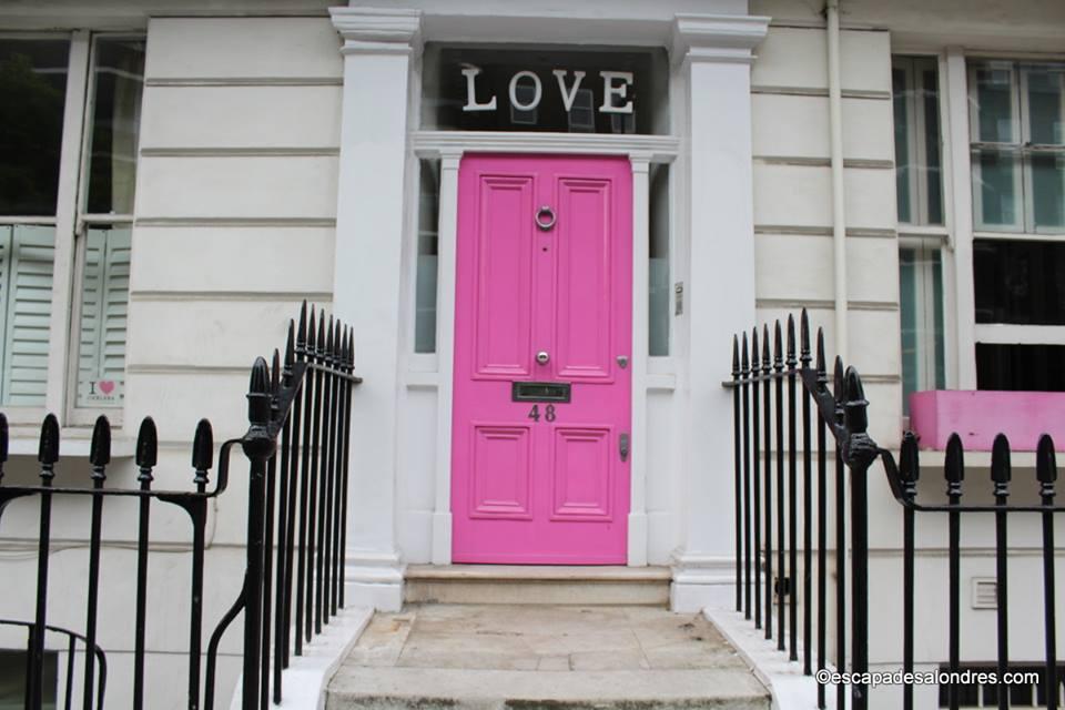 Love door chelsea