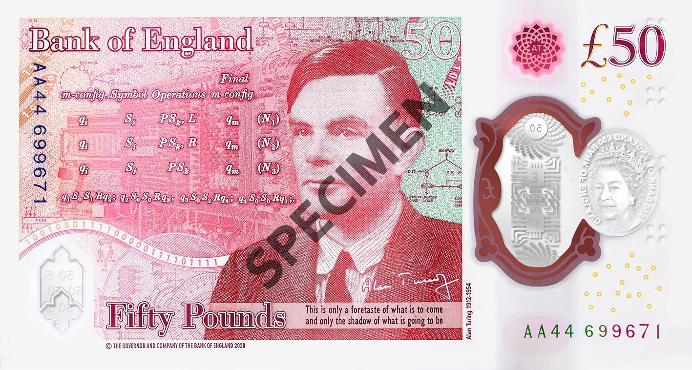 New polymere 50 note