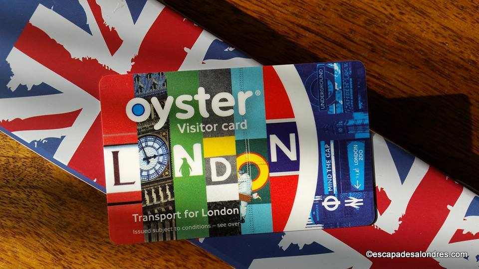 Oystercard visitor