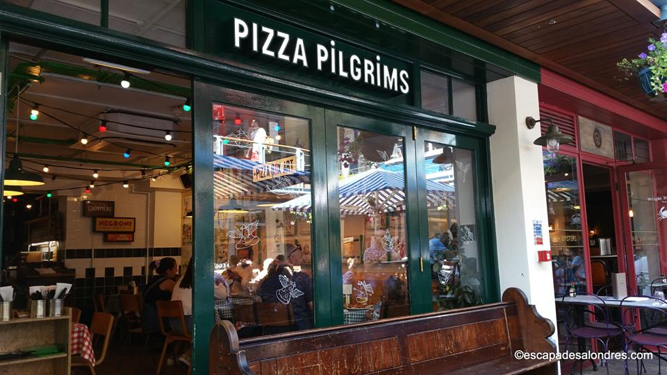 Pizza pilgrims Londres