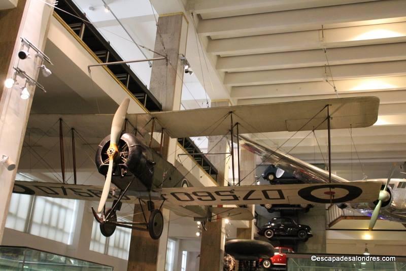 Science Muséum London : Avro 504K