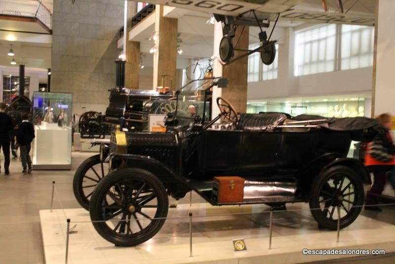 Science Muséum London : Ford Model T