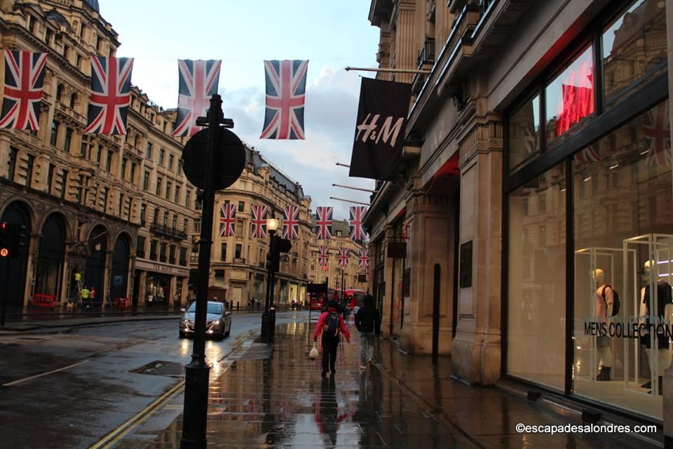 Shopping Regent street