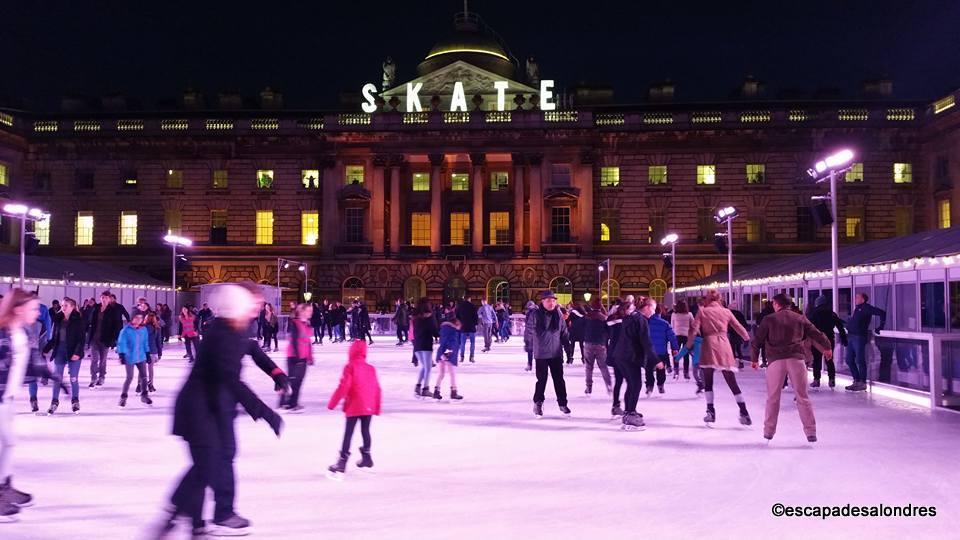 Patinoire Noel Les meilleures patinoires de Noël à Londres
