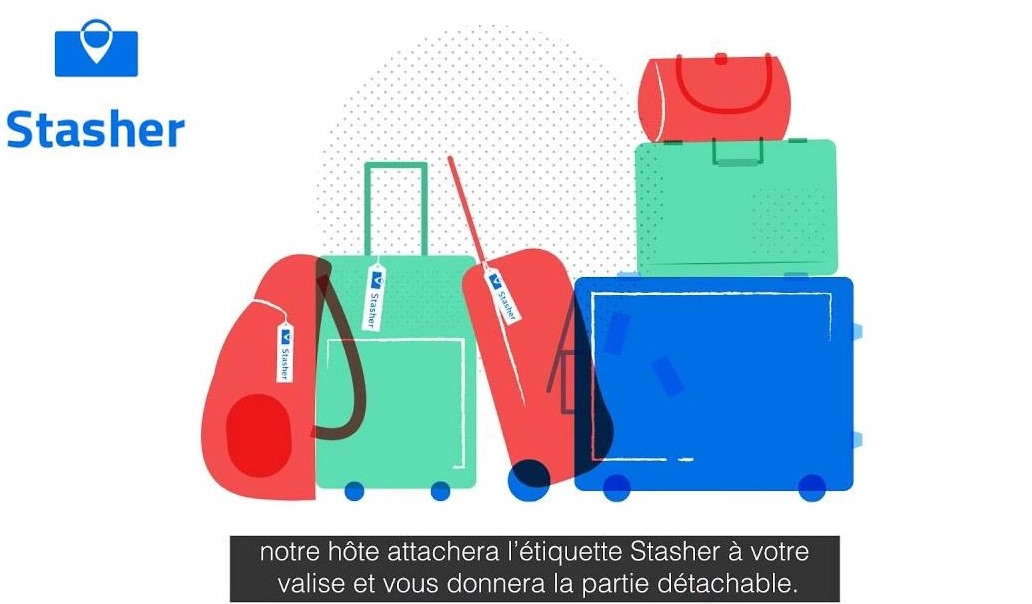 Stasher bagagerie