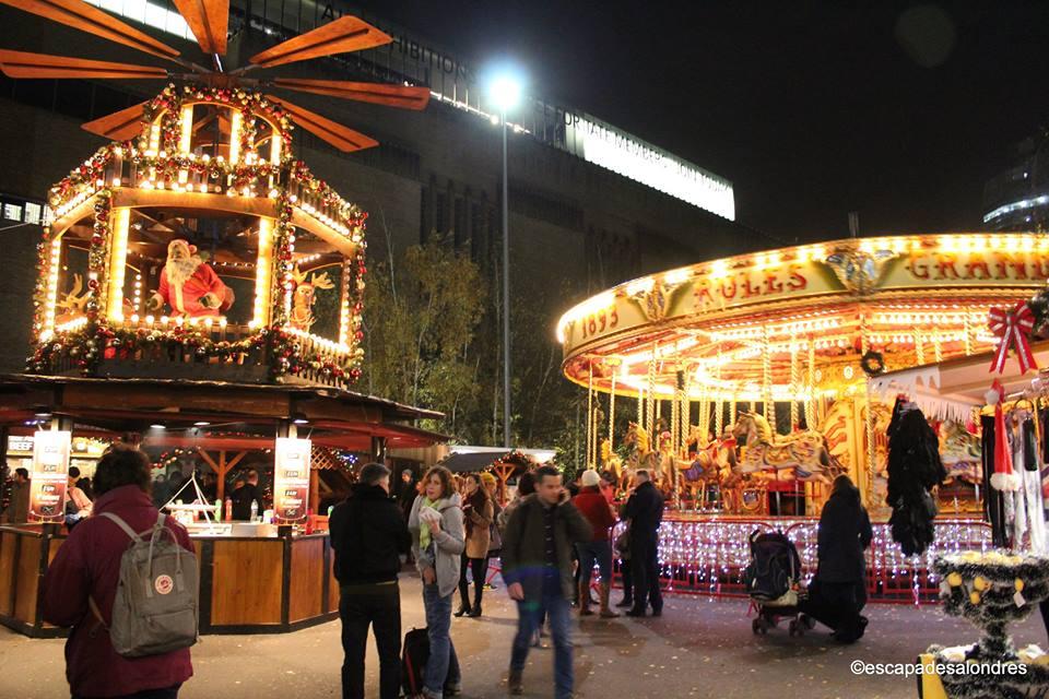 Tate modern christmas market