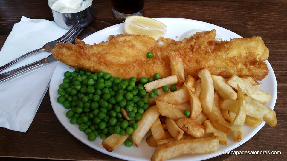 The golden hind fish and chips