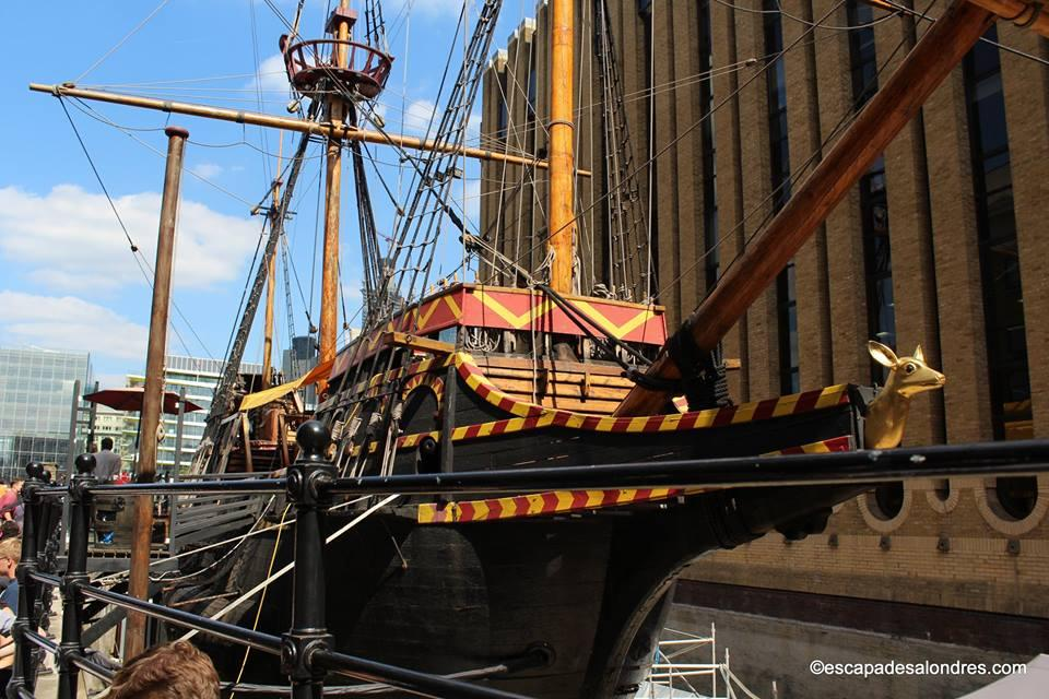The golden hinde londres