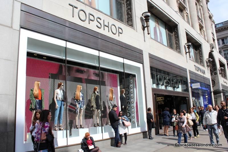 Le Personal Shopping de TopShop sur Oxford