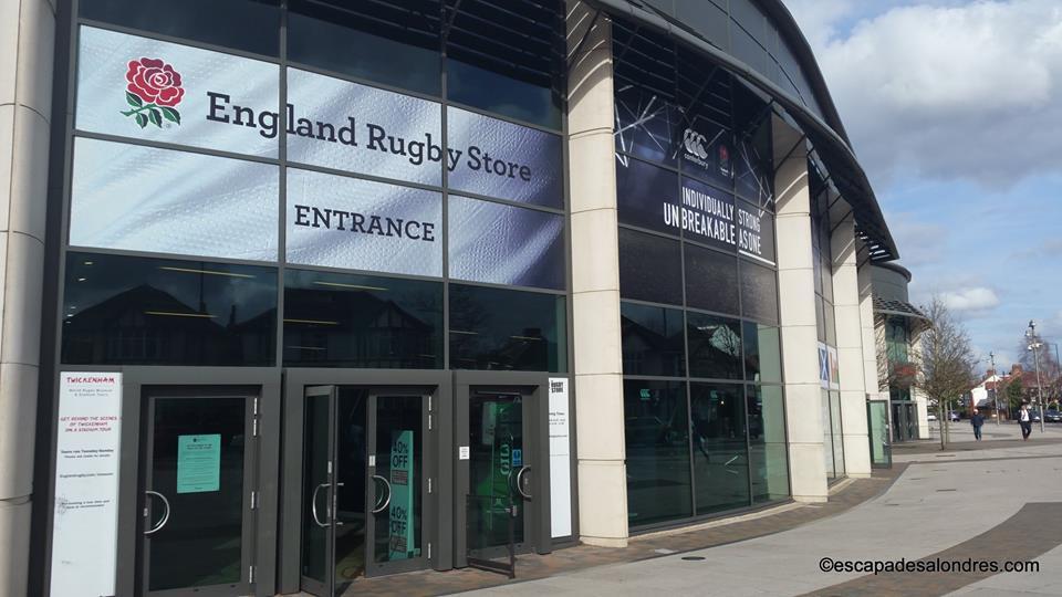 Twickenham Stadium England rugby store