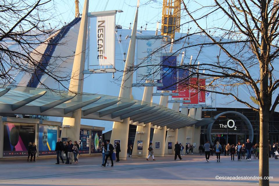 Up at the o2 Arena London