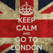Keep Calm And Go To London !