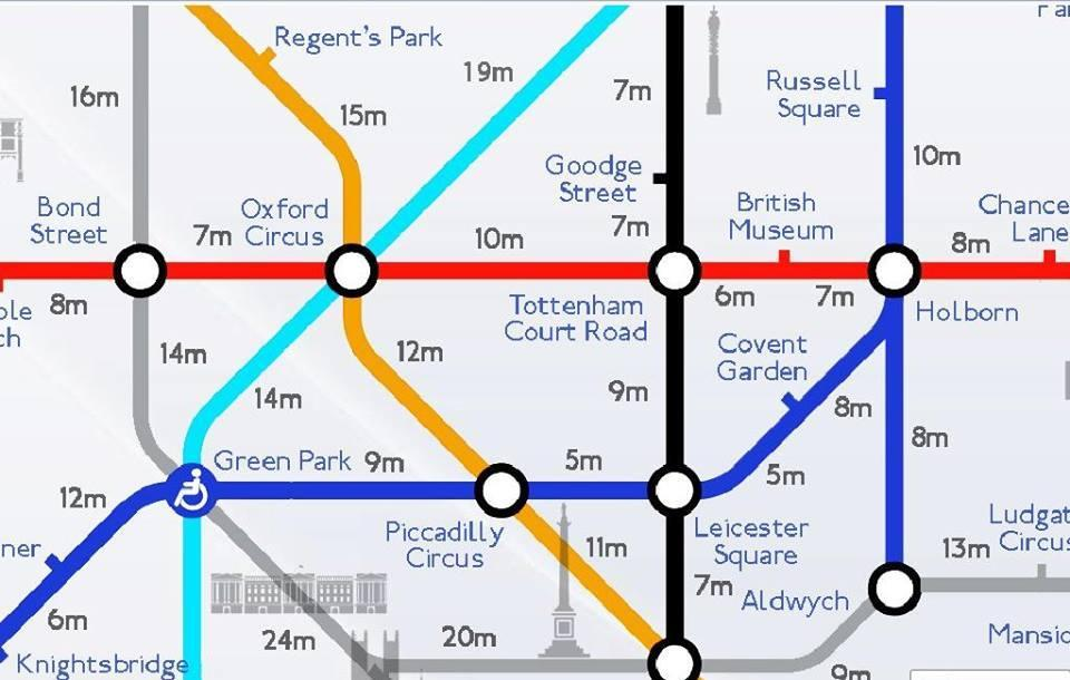 Walk London Map