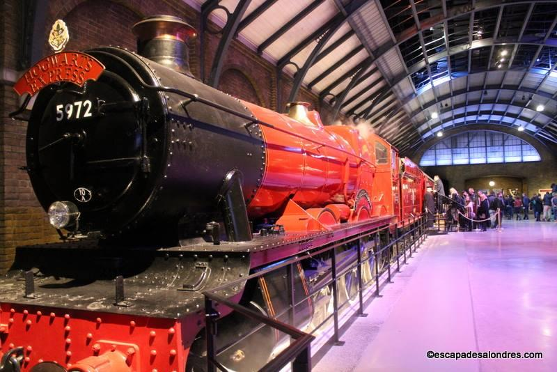 Poudlard Express Warner Bros studio Harry Potter